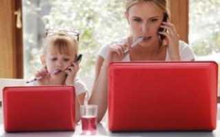 Как заработать деньги маме с ребенком