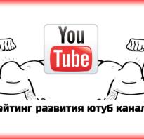 Топ 500 каналов ютуб в россии