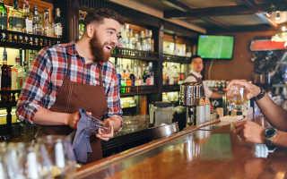Сколько нужно чтобы открыть бар