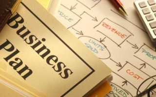 Бизнес план для банка образец