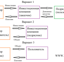 Проект инвестиционного договора